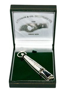 Solid Silver Dog Whistle from Gundog Solutions