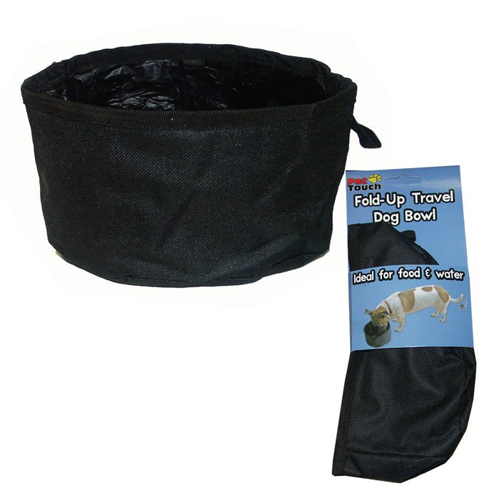 Portable Canvas Water Bowl from Gundog Solutions