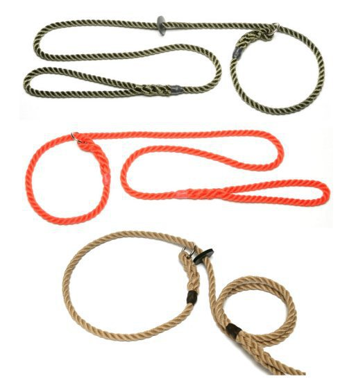 Rope Slip Lead from Gundog Solutions