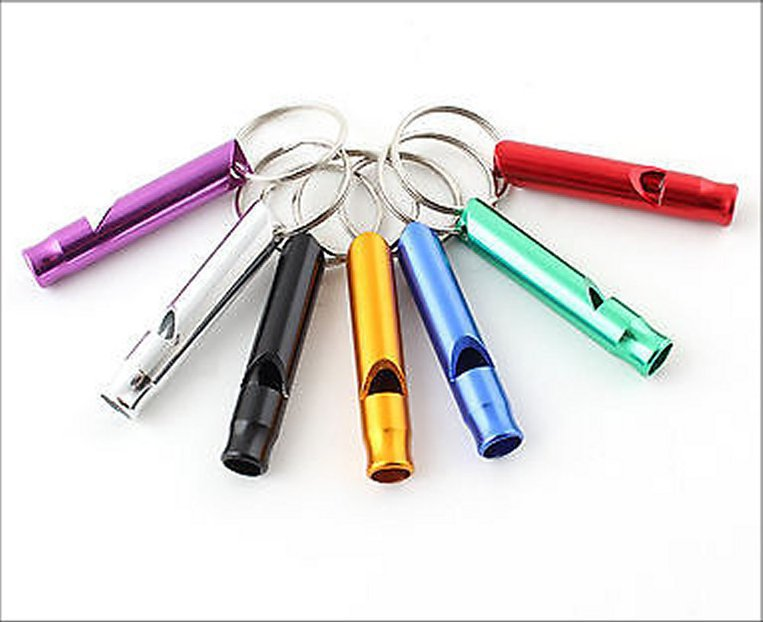 Aluminium Dog Whistle - Various Colours