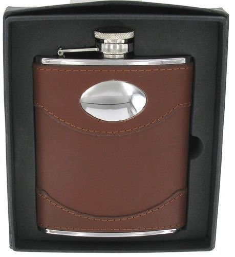 Leather Hip Flask from Gundog Solutions