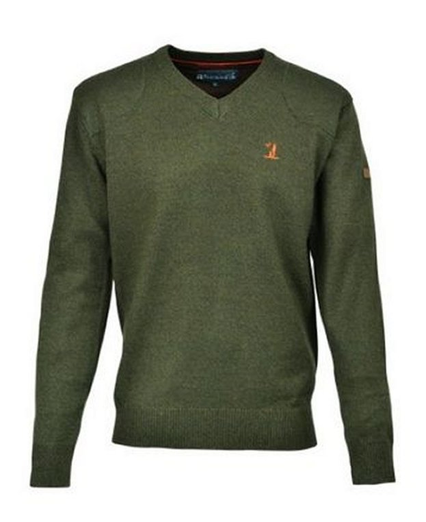 Percussion V Neck Sweater - Mens from Gundog Solutions