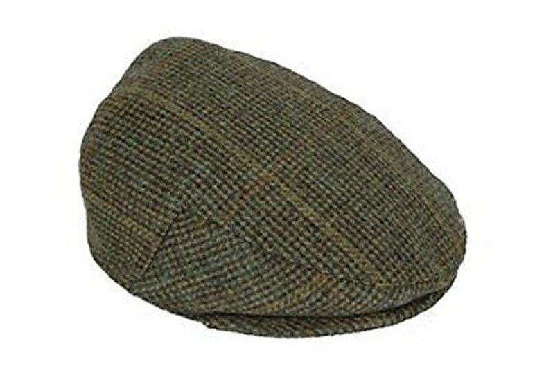 Percussion Woollen Tweed Flat Cap from Gundog Solutions