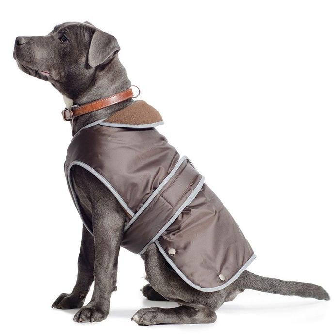 Ancol Stormguard Waterproof Fleece Dog Coat.