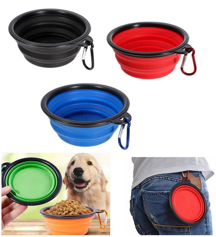 Portable Silicone Water/Food Bowl from Gundog Solutions