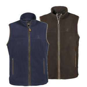 Percussion Scotland Fleece Gilet - Mens from Gundog Solutions