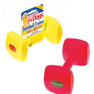 Dumbbell Toy from Gundog Solutions