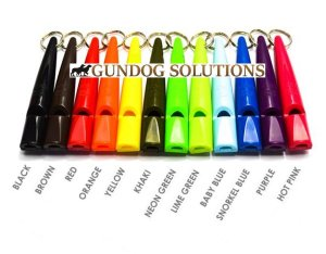 Acme 210.5 Dog Whistle - Various Colours from Gundog Solutions